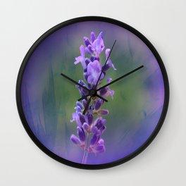 Sweet Lavender Wall Clock