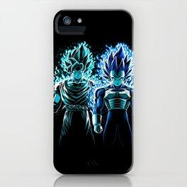 Blue God Warriors iPhone Case