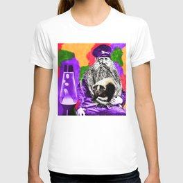 Man Beard Skunk Lava Lamp T-shirt