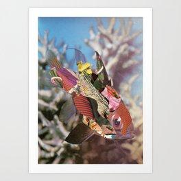 Fish 'n Trips Art Print