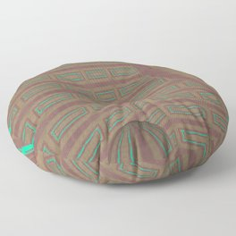 Pallid Minty Dimensions 20 Floor Pillow