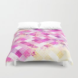 Sweet in Pink Duvet Cover