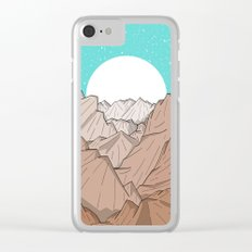 The Mountains of Old Clear iPhone Case