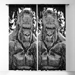 Primate Models: Mad Gorillas 01-02 Blackout Curtain