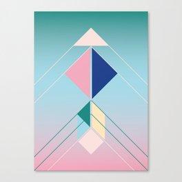 Tangram Arrow For Canvas Print