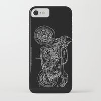 cafe racer iPhone & iPod Cases featuring NORTON COMMANDO 961 CAFE RACER. 2011 by Larsson Stevensem