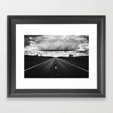 Serendipitous Symmetry Framed Art Print