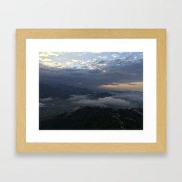 Himalayan Sunrise Framed Art Print