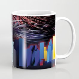 Statue of Liberty with Tennis Racquet Torch Coffee Mug