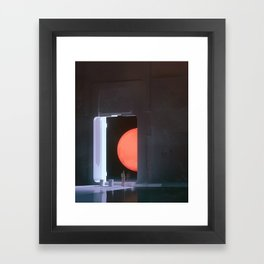 HALF WAY HERE (everyday 06.05.18) Framed Art Print