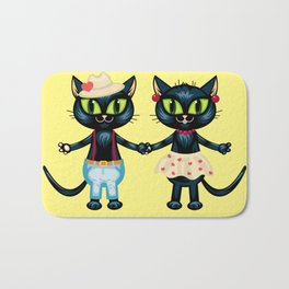 Cat's romance Bath Mat