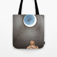 david olenick Tote Bags featuring David by anitaa