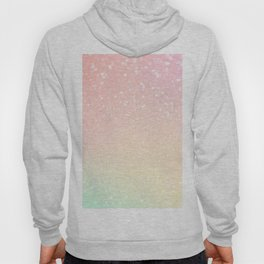 Glitter Pink Sparkle Ombre Hoody