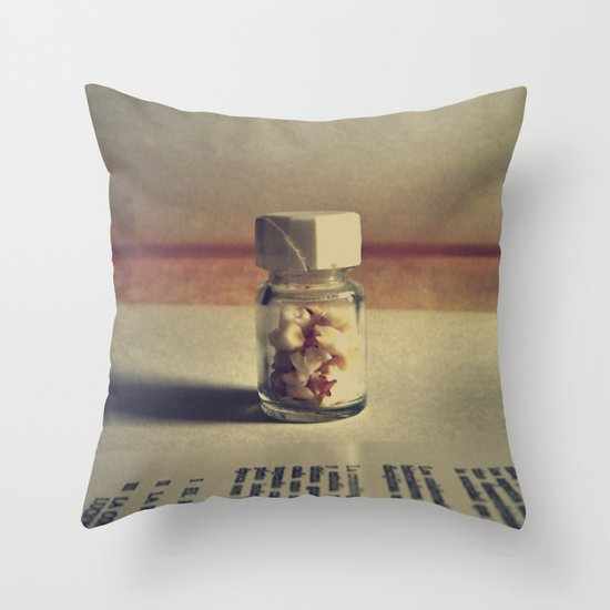 Candy Poison Throw Pillow