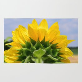 Bright Sunflower Rug