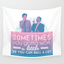 Ball A Lot Wall Tapestry