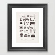 The Desert Rocker Kit Framed Art Print
