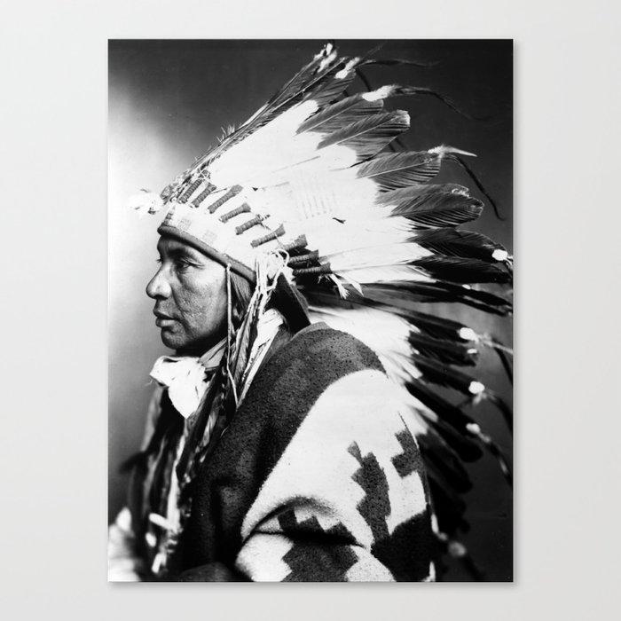 Nsego Shoshone American Leinwanddruck