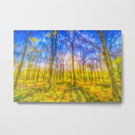 The Primeval Forest Metal Print