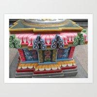 Sri Mariamman Indian Temple, Singapore Art Print