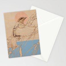 Myshkin Sparrow Stationery Cards