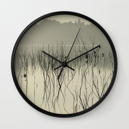"""Calm early morning"" Wall Clock"