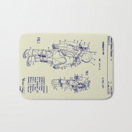 1973 NASA Apollo Astronaut Space Suit Patent Bath Mat
