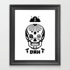 Mexican Skull Framed Art Print
