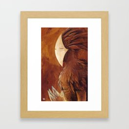 Autumn spirit Framed Art Print