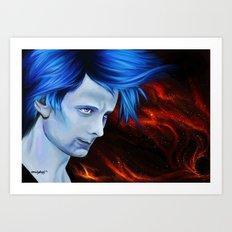 Matt Bellamy - Starlight Art Print