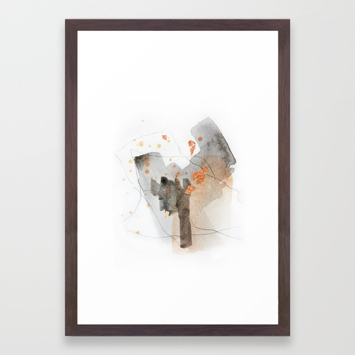 Piece of Cheer 5 Framed Art Print
