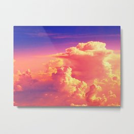 Sunset Sky of Dreams Metal Print