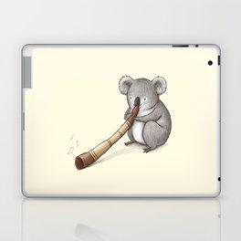 Koala Playing the Didgeridoo Laptop & iPad Skin