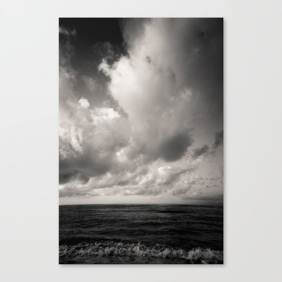 summer ver.black Canvas Print