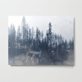 After the fire V Metal Print