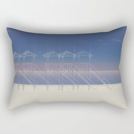 Summer beach Rectangular Pillow