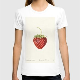 Strawberry (Fragaria) (1930) by Louis Charles Christopher Krieger T-shirt