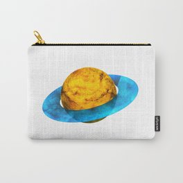 Colorful watercolor hand drawn planet. Carry-All Pouch