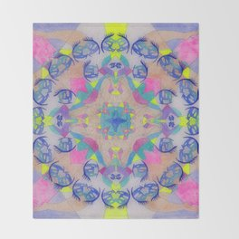 Inner Space 1 Throw Blanket
