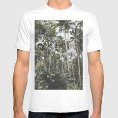 In the Jungle - Hawaii Mens Fitted Tee White MEDIUM