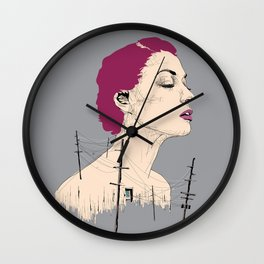Don't Get Your Lines Crossed, Girl Wall Clock