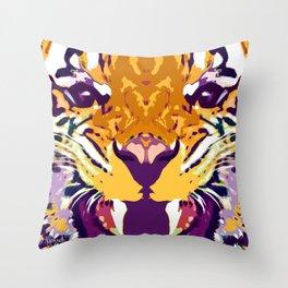 Tigah Throw Pillow