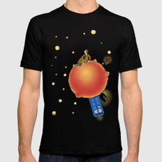 The Prince and the Rose Mens Fitted Tee Black MEDIUM