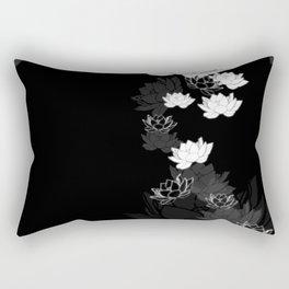 Lovely Lotus Rectangular Pillow
