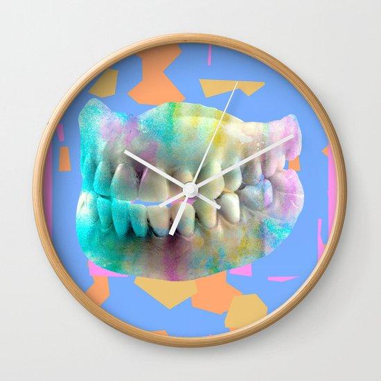 Dino tracks Wall Clock