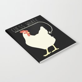 Guess What? Chicken Butt Notebook