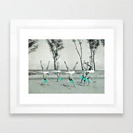 Form Framed Art Print