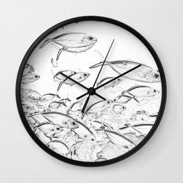 fishfish Wall Clock