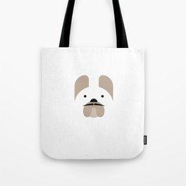 Pedigree: French Bulldog Tote Bag