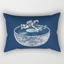 Space Tune Rectangular Pillow